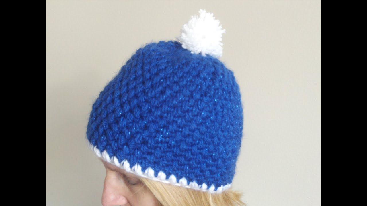 How To Crochet A Hat In Puff Stitch Youtube