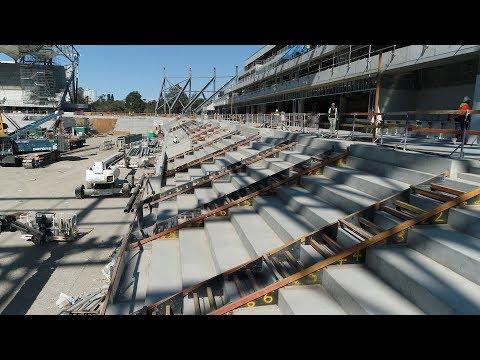 Western Sydney Stadium Update August 2018