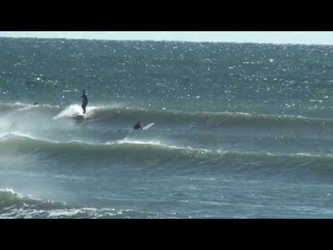 Surfing at Point Judith 10/10/2016