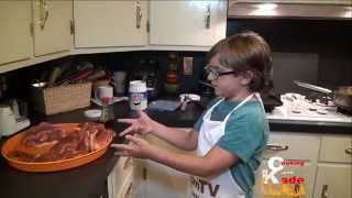 Cooking With Kade | Cajun Pan Fried Pork Chops And Twice Baked Potatoes On The Cajun Tv Network