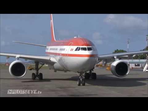 Pilotseye.tv - LTU Airbus A330 Malediven Descent & Arrival [English Subtitles]