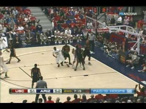 2009/2010 Arizona Basketball vs USC