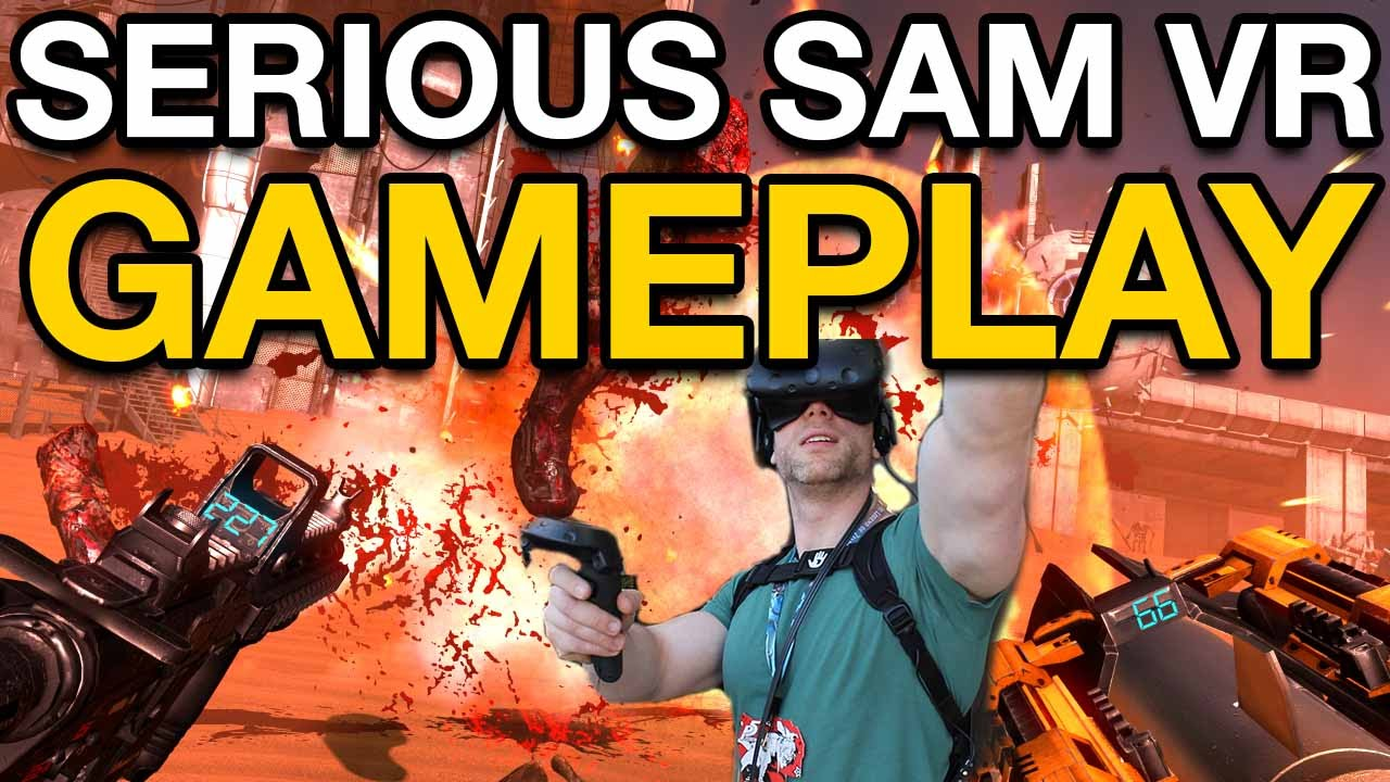 Download Serious Sam VR: The Last Hope Is The Best VR Game