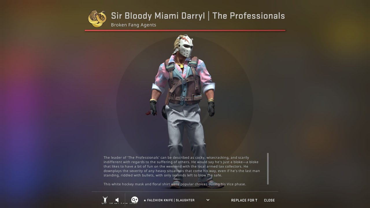 Broken Fang - Using 25 star for the master agent and got Sir Bloody Miami  Darryl - YouTube