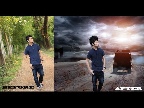 Adobe Photoshop cs6 photo edit