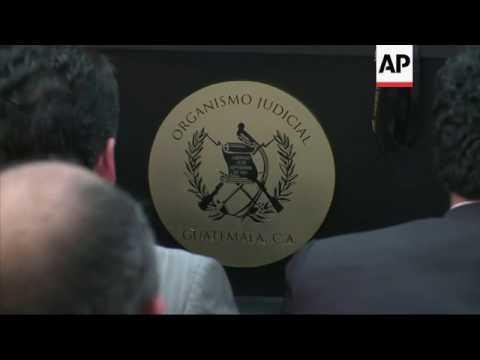 Guatemala trial for alleged civil war crimes
