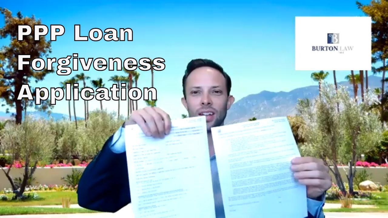 Paycheck Protection Program Loan Forgiveness Application