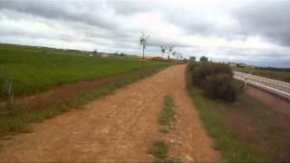 A Windy Day on the Camino de Santiago
