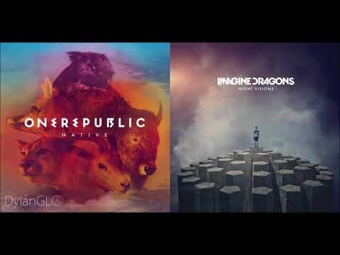Radioactive Stars (Reversed) | One Republic & Imagine Dragons Mashup!