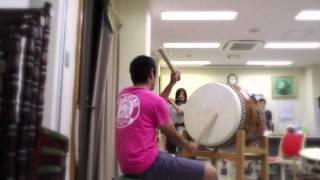 遠州相良・さ組・四丁目 祭りは毎年9月に開催されます。 大太鼓の練習を...