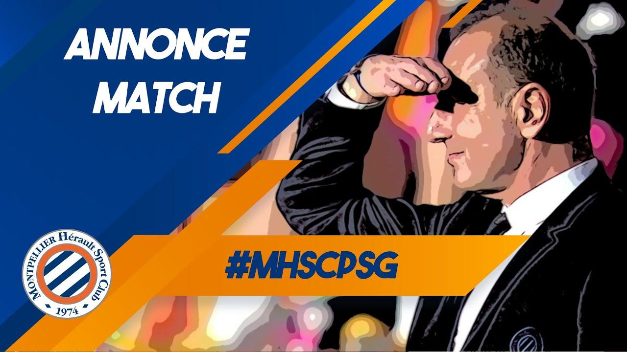 Annonce match #MHSCPSG