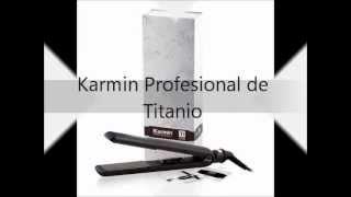 Plancha de Titanium / Titanio Profesional Karmin
