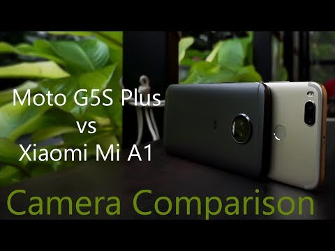 Xiaomi Mi A1 vs Moto G5S Plus Camera Comparison Review - Two Sides of the Same Coin
