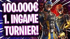 🏆😱ERSTES 100.000$ TURNIER IM SPIEL! | 🌍Fortnite Weltmeisterschaft Test Turnier!