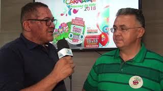 Carnaval de Todos 2018: Ítalo Diógenes fala da programação do carnaval na Praça Rodoviária