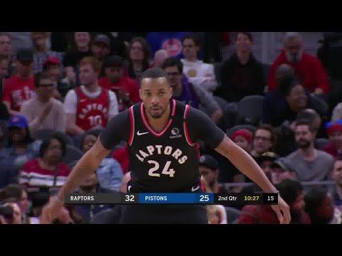 Norman Powell Full Play Vs Detroit Pistons | 01/31/20 | Smart Highlights