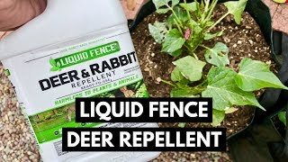 Liquid Fence Deer And Rabbit Repellent Review