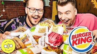 Spróbowaliśmy WSZYSTKIEGO z Burger King