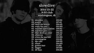 Slowdive - 2014-10-22 Washington, DC [live]