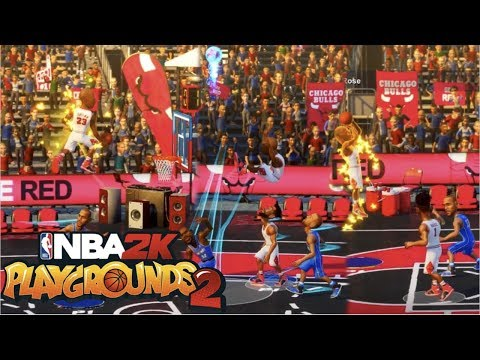 NBA 2K PLAYGROUNDS 2 SEASON MODE | FINALLY A GAME I CAN HAVE FUN WITH!!! |