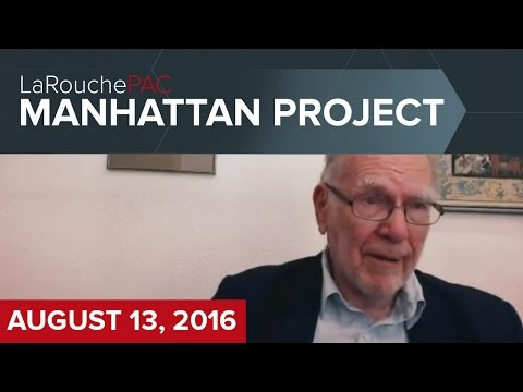 Manhattan Town Hall event with Lyndon LaRouche