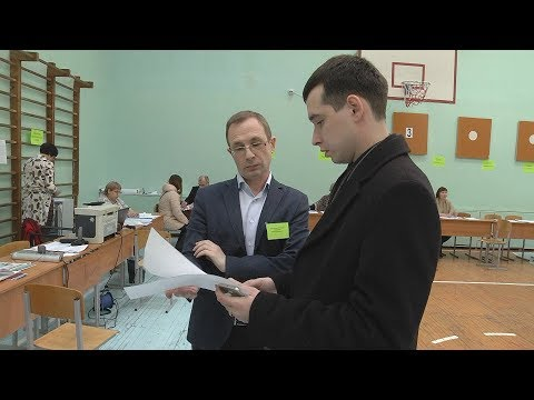 Нарушения на выборах президента в Новосибирске