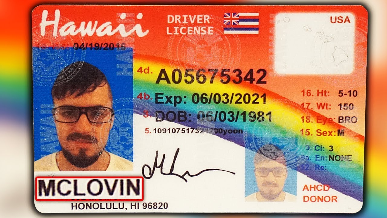 Using McLovin ID at Liquor Stores (IT WORKED!!) - YouTube