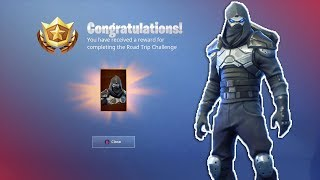 New ROAD TRIP Week 7 Skin Unlocked (Fortnite Battle Royale Enforcer Skin)