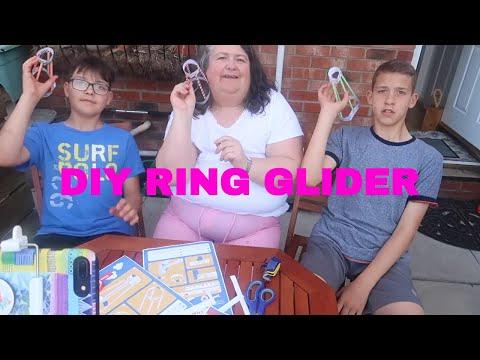 DIY Ring Wing Glider