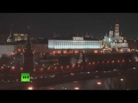 Отключение внешнего освещения Кремля в рамках всемирной акции «Час Земли»