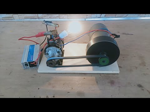 How to Make Free Energy Generator 220v Recycle  Real Free Electricity Generator