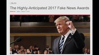 🔴LIVE: President Trump Announces the Fake News Awards - LIVE COVERAGE