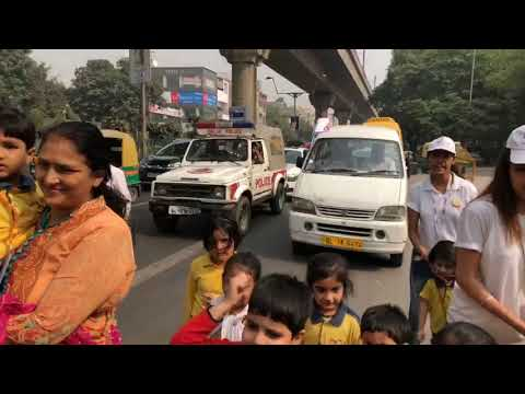 Anti Cracker Rally by Petals & Petals World School Kids