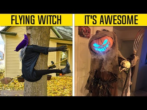 Creative Halloween Decorations That Got Way Too Real