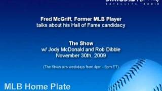Fred McGriff, Former MLB Player, Discusses his HOF Candidacy - Sirius|XM Radio