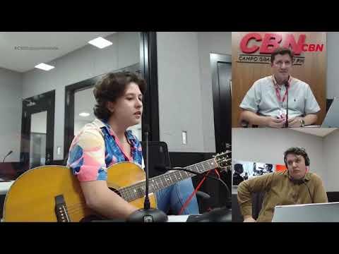 Entrevista CBN Campo Grande: Letícia Cristaldo