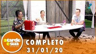 Baixar A Tarde é Sua (31/01/20) | Completo