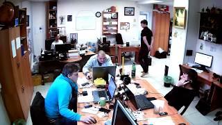Фрагмент записи видео с камеры Link NC238G-IR