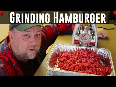 Grinding Your Own Hamburger