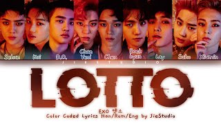 EXO 엑소 - 'Lotto' | Color Coded Lyrics Han/Rom/Eng