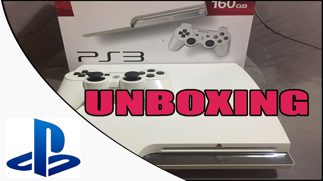 Unboxing Playstation 3 classic white - YouTube