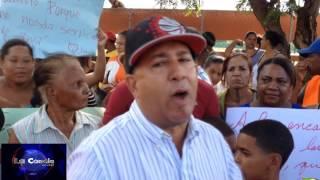 Protesta en la joya de Los Almácigos 26/08/15