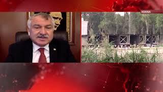Adana'daki Devlet Bahçeli Köprüsü yarım kaldı