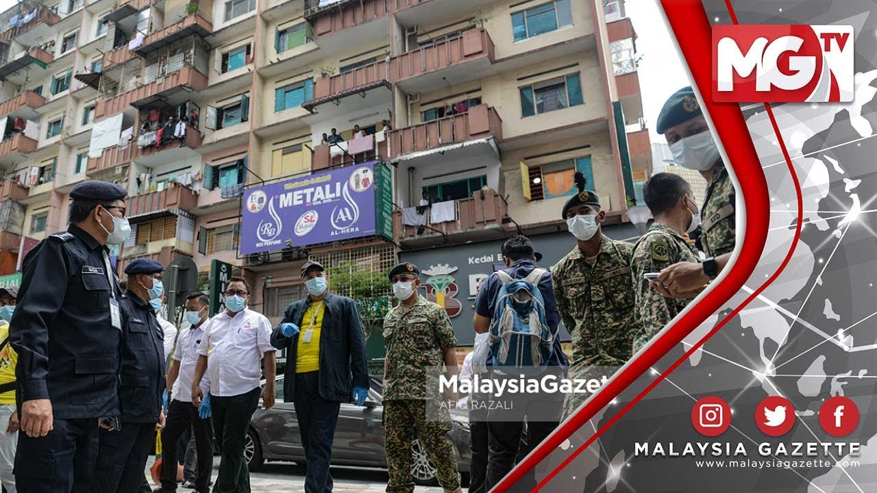 TERKINI : Dua Lagi Kawasan di Kuala Lumpur Diisytihar #PKPD