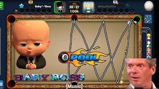 8 BALL POOL MAGICAL SHORTS || BABY BOSS