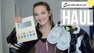 SUMMER HAUL// CLOTHES, MAKEUP, & SKINCARE