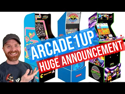 Arcade1Up: Street Fighter, Darkstalkers, Turtles in Time ONLINE from Mr. Sujano