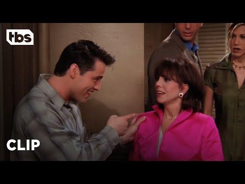 Friends: Joey Has A Surprise For Rachel's Mom (Season 2 Clip)   TBS