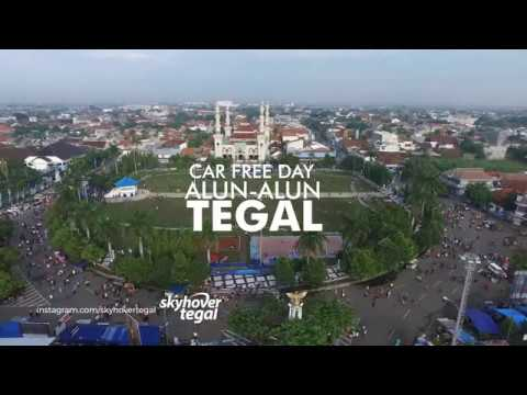 Car Free Day Alun - Alun Kota Tegal 9 April 2017