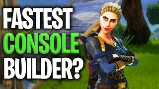 EDITING = WINS! Fast Building/Crazy Building fights [HIGHLIGHTS] - Fastest Fortnite Console Builder?